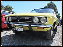 Opel Manta A 16S, 1972 (v8dub) Tags: opel manta a schweiz suisse switzerland seedorf german pkw voiture car wagen worldcars auto automobile automotive youngtimer old oldtimer oldcar klassik classic collector