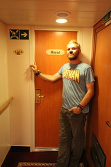 Craig in the Royal Suite of Stockholm to Tallin ferry (ec1jack) Tags: craig royal suite stockholm tallin ferry sweden estonia cabin tallink ec1jack kierankelly canoneos600d august september 2016 summer europe scandinavia