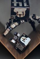 Iron Panda family (TKatagiri) Tags: ashley wood threea 3a world war robot wwr 3ago iron panda