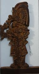 maya tallado en madera (ivanutrera) Tags: maya mayan carved carvedwood wood wooden tallado talladoenmadera madera glifo