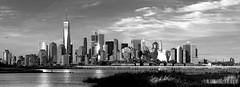Lower Manhattan - 9.11.16 (Al Camardella Jr.) Tags: manhattan newyorkcity blackandwhite blackandwhitephotography urbanblackandwhite worldtradecenter nyc skyline skyscrapers