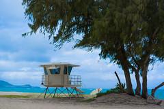 Windward Beach (notgnal) Tags: beach windward ocean kailua hawaii oahu lifeguard lifeguardstand highsurf sonyalpha sonyphoto sony a7r sel55f18z sonya7r photooftheday project365 365 365project