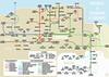 Edinburgh Railways (the Magnificent Octopus) Tags: tubemap map schematic edinburgh railway railways networkmap diagram lothians northbritishrailway caledonianrailway