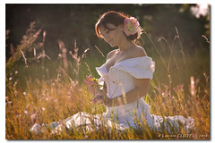 Wishing You a Nice Week-end ! (Laurent CLUZEL) Tags: nikon d610 70200 28 vrii woman romantic white dress
