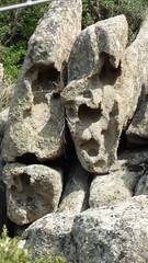 doppie facce (Sandro Dei) Tags: rock face rockface
