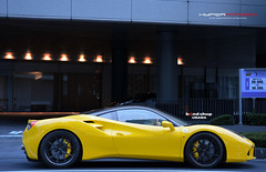 "Ferrari 488 GTB|Bond Shop URAWA  HF-LC5"" 21inch (HYPER FORGED) Tags: ferrari488 gtb hyperforged hflc5 concavewheels forgedwheels hyperforgedwheels supercar brushed anodized madeinjapan pirelli bondshopurawa"