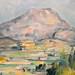 CEZANNE,1890 - Montagne Ste-Victoire (Orsay) - Detail -c