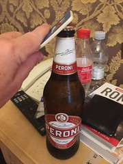 Great idea - take some Peroni back to the room - Rome - July 2016 (litlesam1) Tags: italy rome soloromejuly2016 july2016 larry
