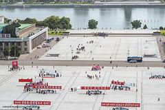 Kim Il-sung suqare, Pyongyang (George Pachantouris) Tags: dprk north korea pyongyang kim ilsung jongil jongun communism socialism