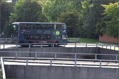 National Express West Midlands ADL Enviro 400MMC, 6703 (Platinum branded) Part 2 (paulburr73) Tags: 6703 nxwm coventry bus enviro400 adl alexanderdennis mmc 2016 september westmidlands majormodelchange ringroad junction8 doubledecker express city urban transport holyheadroad 900 service900 birmingham junction roundabout traffic a4053 nationalexpress platinum newin2015 branded midlands bridge yx15oxv h4330f