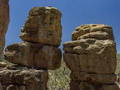 Chiricahua National Monument - Echo Canyon Trail (adzamba) Tags: 2016 willcox arizona unitedstates usa chiricahuanationalmonument echocanyontrail sentiero formazionirocciose
