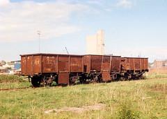 Rusty Wagons (R~P~M) Tags: uk greatbritain england abandoned wagon dock rust unitedkingdom gloucestershire disused derelict glos sharpness