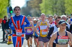 Congratulations to all anonymous runners - 2012 London Virgin Marathon (Alexandre Moreau   Photography) Tags: uk london photography official photos flag ali photographs runners lycra alexandremoreau londonvirginmarathon2012