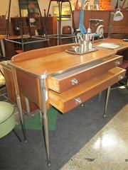 1930's Console Entryway Table (Mod Livin') Tags: modern vintage design furniture danish eames midcenturymodern midcentury teak madmen heywoodwakefield selig risom midmod johnkeal