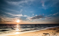 Pantai Remis (MOG'S) Tags: sunset seascape beach landscape seaside sundown malaysia goldenhour jeram kualaselangor malaysialandscape pantairemis pantaijeram landscapemalaysia malaysialandscapespot