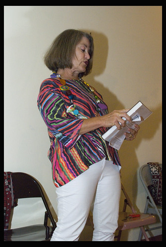 Meryl Cohen reading her poem