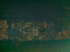 (RealestForreal) Tags: train graffiti aqua force ns norfolk trains southern master teen hunger shake boxcar freight boxcars athf aquateenhungerforce freights norfolksouthern mastershake fr8 graffititrain graffitifreight