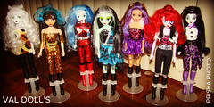 MONSTER HIGH FAKE (Val dOLL) Tags: monster high fake mattel