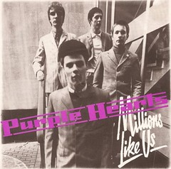 Purple Hearts - Millions Like Us, 1979 (Paul-M-Wright) Tags: uk england london mod group band vinyl picture 45 cover single cult record 70s 1970s seventies 1979 mods 45rpm modrevival purplehearts millionslikeus bobmanton