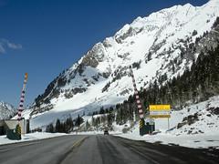Hellgate Pass, Alta, UT (vxla) Tags: road travel vacation mountain snow snowboarding utah spring nikon gates ps saltlakecity coolpix april macosx 2012 lightroom 2000s s630 vxla lightroom3 altaskiresort creativecommons30 hellgatepass