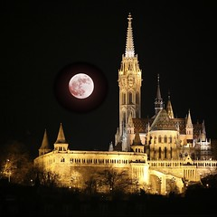SuperMoon (h.andras_xms) Tags: city moon nature night canon budapest 5d 70200 mkiii mk3 xms handras handrashu supermoon