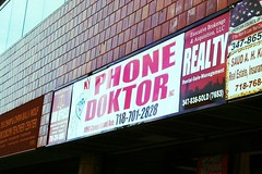 Doktor, ڈاکٹر (bolbolaan) Tags: nyc ny newyork english brooklyn phone doctor midwood ditmaspark coneyislandavenue cellphonerepair littlepakistan flickrandroidapp:filter=miami