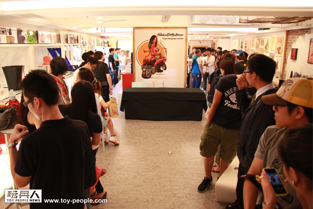 Rockin'Jelly Bean 2012台北簽名會報導