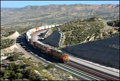 Flat Tire Repose 1 (greenthumb_38) Tags: railroad train summit locomotive 1740mm bnsf cajon eastbound cajonpass canon40d jeffreybass
