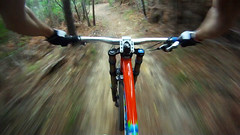 This is life! (Pfb Photography) Tags: italy mountain blur bike sport alberi speed photography screenshot italia ride hill go mountainbike free fast down downhill trail gravity dh mtb hero pro hd movimento sentiero rider fr freeride kona stinky vtt velocit bosco pfb immagine veloce 960 discesa gopro montepertico pfbphotography