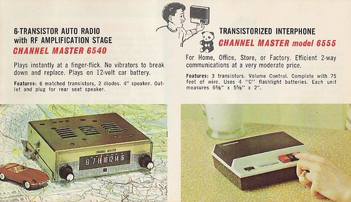 CHANNEL MASTER Radio, Television, Tape Recorder, Walkie Talkie and Interphone Brochure (USA 1961)_19