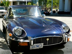 jaguar e-type fixed head coupe (rgibbsphotography) Tags: blue canada classic cars vancouver bc head columbia exotic fixed british spotted jaguar rare coupe spotting collector exotics etype v12 jaguaretype fhc propercars