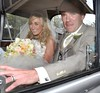 Glenn Whelan, Karen Byrne The wedding of Irish footballer Glenn Whelan to Karen Byrne held at St. Philomena's Church in Palmerstown Dublin, Ireland