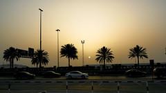 850D4891- Sunset in the city (Zoemies...) Tags: street city sunset dubai zoemies