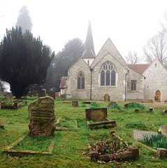 Chaldon Church, Caterham, Surrey (Ben124.) Tags: flickr surrey caterham chaldonchurch