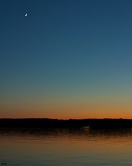 #146 Starnberg Lake Twilight (flickranet) Tags: longexposure light sunset red sky sun sunlight moon lake reflection rot colors beautiful night contrast canon reflections germany dark deutschland iso100 see mond licht twilight colorful sonnenuntergang nightshot nacht dusk 28mm handheld redsky starnberger starnberg ufer sonne waterside starnbergersee abendrot twillight abendstimmung reflektionen leuchten sonnenlicht halbmond yabbadabbadoo dunklerhimmel 60d starnberglake canonef28mmf18usm canon60d fruhling dammerung canonef28mm118 canoneos60d canonef28mm118usm flickrstruereflection1 dammern flickranet starnberglaketwilight moondsichel