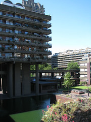 The Barbican (AdinaZed) Tags: uk london modernism barbican brutalism modernist brutalist
