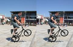 3D bike@bristol (3D shoot) Tags: bike bristol stereoscopic stereophoto stereophotography 3d bmx stereo parallel stunt stereoscope atbristol 3dshoot