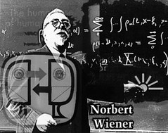Norbert Wiener (AK Rockefeller) Tags: humanity robots math equation mathematics chalkboard robotics maths blackboard norbertwiener