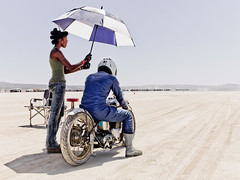Motorcycle in El Mirage (Explored) (Johannes Huwe) Tags: california old blue woman lake car race speed utah sand desert salt may dry racing sunshade hasselblad explore flats motorbike event saltlake land motorcycle hotrod simmons medium format speedy cinematic hdr bonneville racer 2012 kalifornien elmirage motorrad hasselbald rennwagen hodrod h3d explored landspeed h3d39