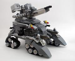 TORTOISE (blamos86) Tags: fiction brick tank lego science fi heavy sci gi mecha troop mech 2012 moc brickarms aarma