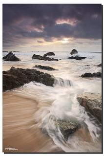 The perfect storm, Garrapata State Park, Big Sur, CA