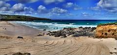 Porthmeor Beach, St Ives. Panorama. Nikon D3100. DSC_0694