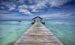Lead me in.. (timcorbin) Tags: seascape colour water clouds boats pigeonpoint tobago 1740l trinidadandtobago canon5dmarkii