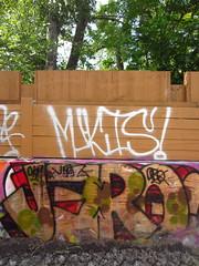Jerq (Pour Decisions) Tags: street urban streetart calgary art graffiti paint graf pit spray alberta graff aerosol 403 spraycan yyc ckm mukis obq jerq