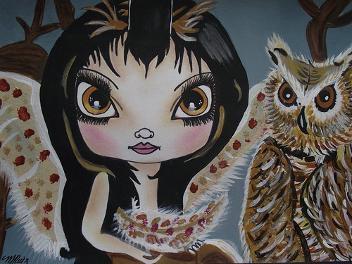 BIG EYED ART / MARIA  RUIZ