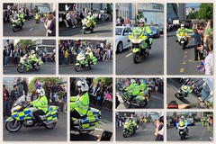 Bike fest! (Mike-Lee) Tags: collage sheffield picasa police motorbikes june2012