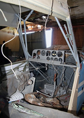 Bellanca Champion 7ECA (N1872G) Cockpit (dlberek) Tags: interior cockpit inside penningtonnj n75 abandonedaircraft derelictaircraft twinpineaiport bellancachampion7eca n1872g