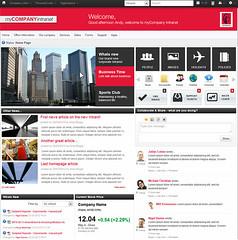 Intranet Design (Claromentis - Web Platform) Tags: social software designs intranets intranet claromentis