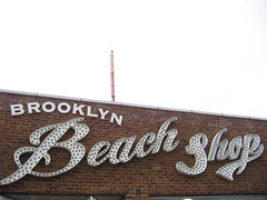 Brooklyn Beach Shop (derekb) Tags: ny newyork brooklyn coneyisland lettering