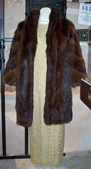 Fur Coat c.1930 (mallala museum) Tags: warmth 1930 eveningwear formaloccasions